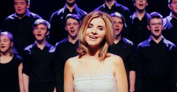'Guiding Light' - Celtic Singer Joins Choir For Special Song
