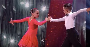 Tiny Dancing Duo Delight With Ballroom Skills