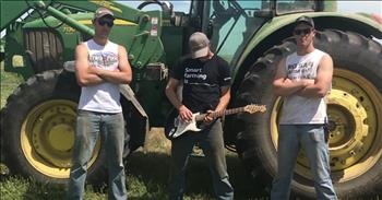 Farmers Sing 'Thunderstruck' Parody About Tractors