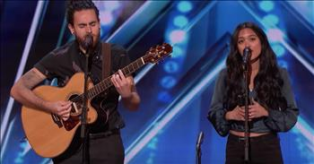 Couple Sings Musical Wedding Vows During Audition