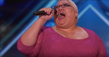 Singer Ignores Fat Shamers To Shine At Audition