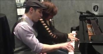 Talented Piano Duet Leaves The Crowd Stunned