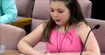 5th Grader Takes a Stand Against Bullying