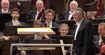 Orchestra Surprises Conductor With 'Happy Birthday'