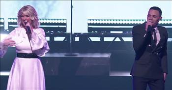 'When We Pray' - Tauren Wells And Natalie Grant Live Performance