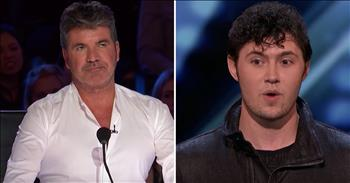 Simon Stops Classical Singer And Gives Him New Challenge