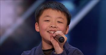 13-Year-Old's 'You Raise Me Up' Audition