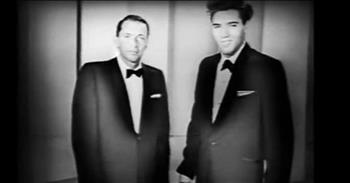 Classic Frank Sinatra And Elvis Presley Duet From 1960