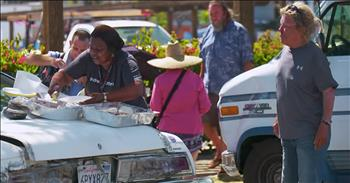 Cafeteria Worker Feeding The Homeless Gets Deserving Surprise