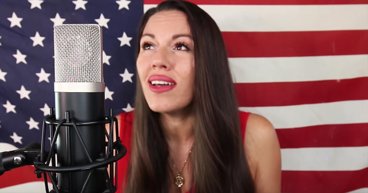 Christian Artist Sings 'The Star-Spangled Banner'