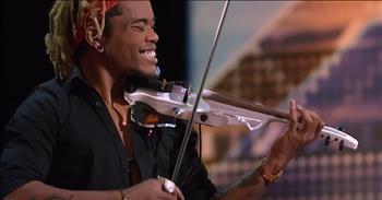 Electric Violinist Waited Years For Stunning Audition