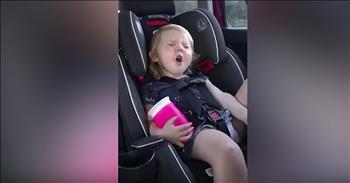 Sassy 2-Year-Old Sings Her Heart Out To Classic