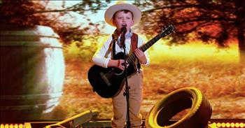 8-Year-Old Country Boy Sings Buck Owens Classic