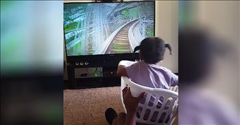 Dad Makes Daughter Her Own Roller Coaster