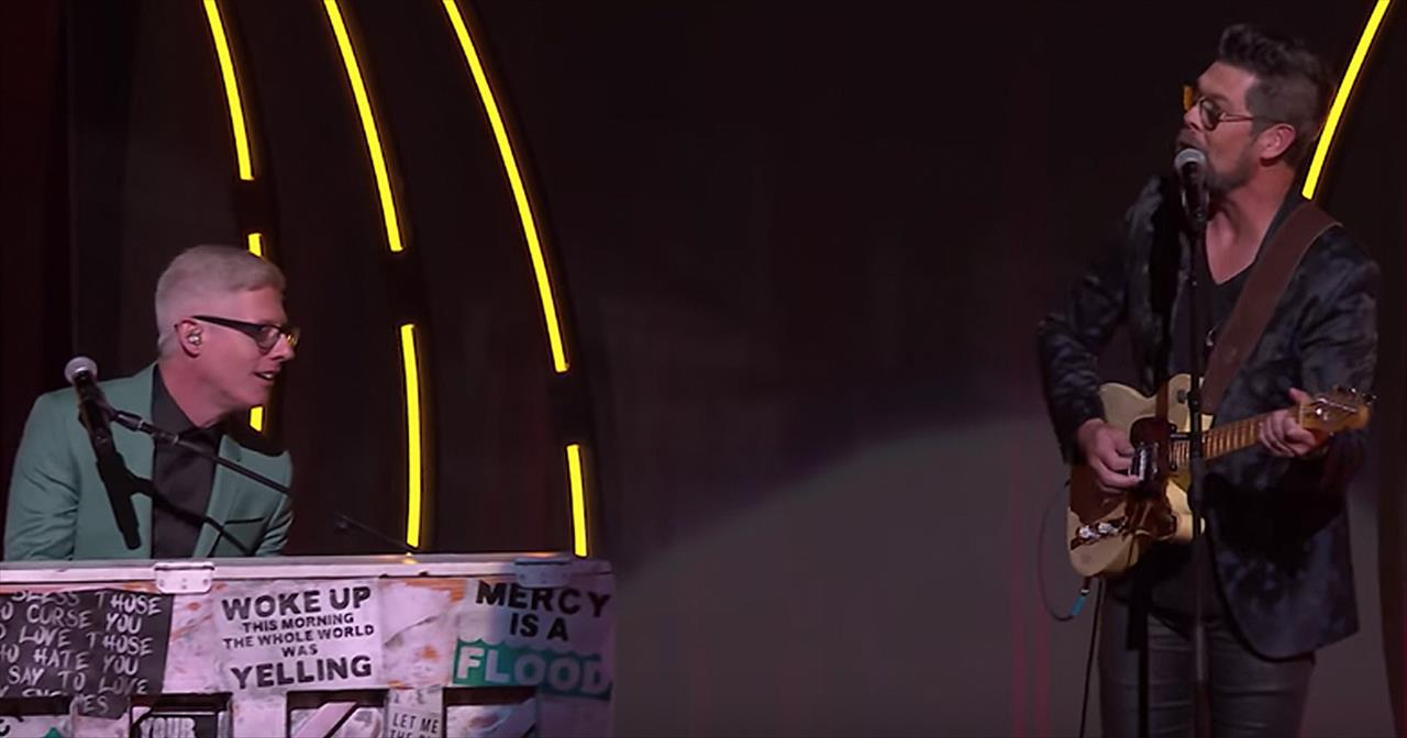 'What A Friend' - Matt Maher With Jason Crabb Live Performance