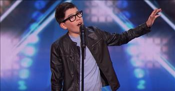 12-Year-Old Spanish Singer Impresses The Judges