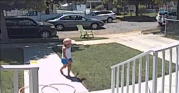 Smart 7-Year-Old Flees From Potential Kidnapping