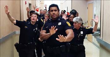 Epic Police Department 'Uptown Funk' Lip Sync