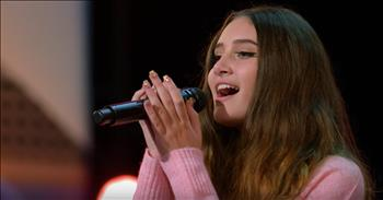 15-Year-Old Singer Earns Last Golden Buzzer