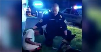 Officer Prays With 9-Year-Old Before Brain Surgery
