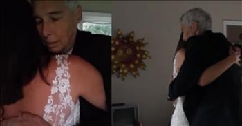 Single Woman Shares Wedding Dance With Dying Father