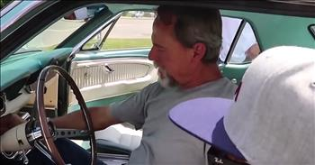 Brothers Surprise Dad With The Car Of His Dreams