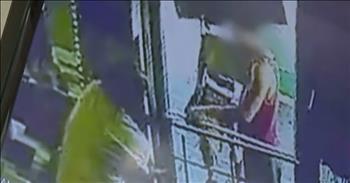 Hero Clerk Saves Woman From 4 Kidnappers