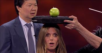 Trickster Hides Judge's Ring For Mind-Blowing Audition