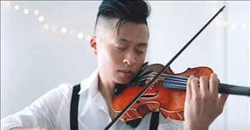 Violin Cover Of Elvis Presley's 'Can't Help Falling In Love'