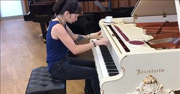 Pianist Gives Heavy Metal Song A Classical Makeover