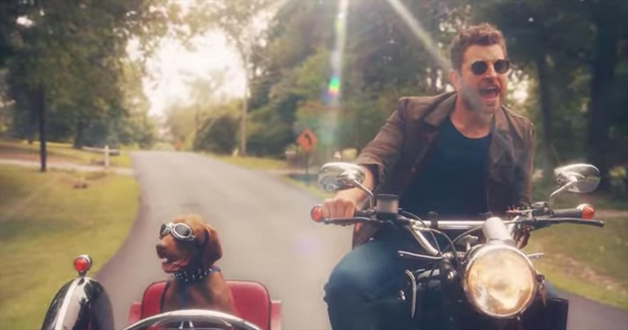 Singer Brett Eldridge Croons Love Someone To His Dog Edgar Inspirational Videos