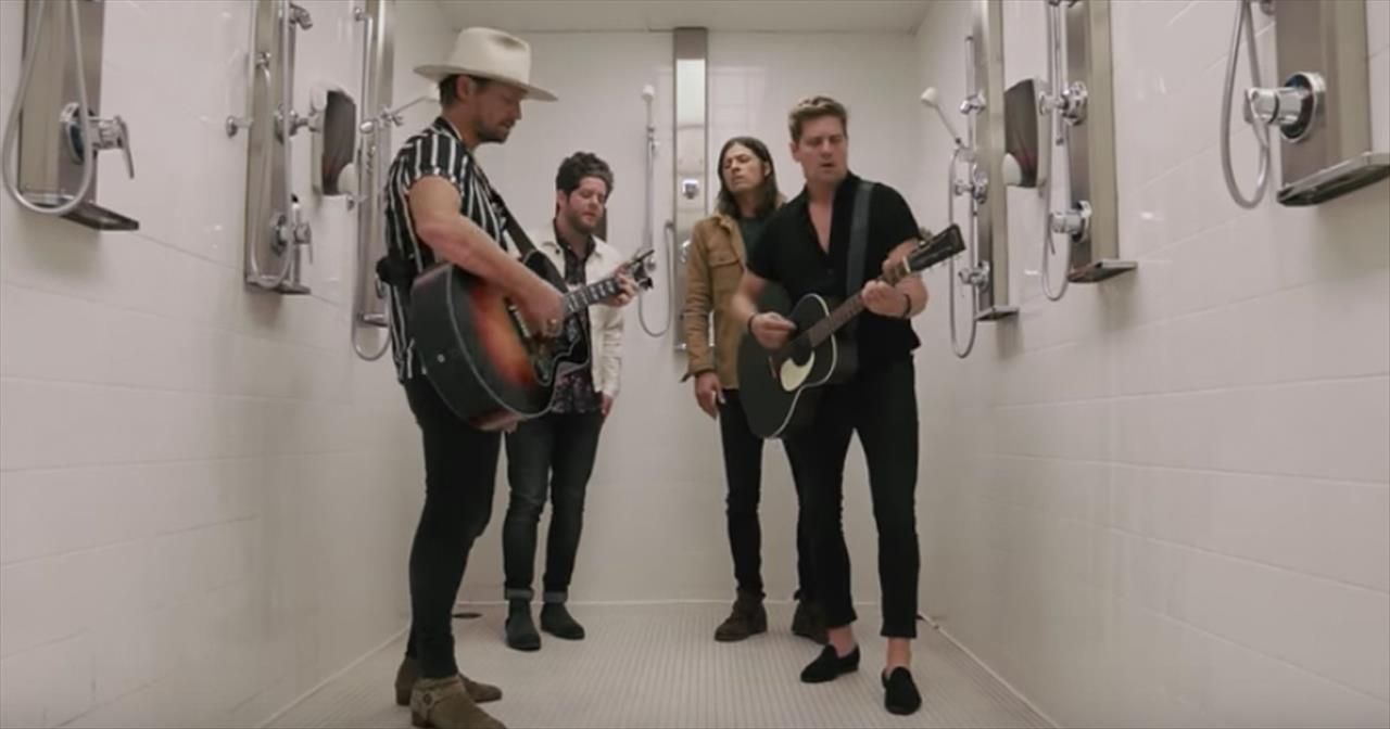 NEEDTOBREATHE Hits the Showers for Acoustic Set of 'Darling'