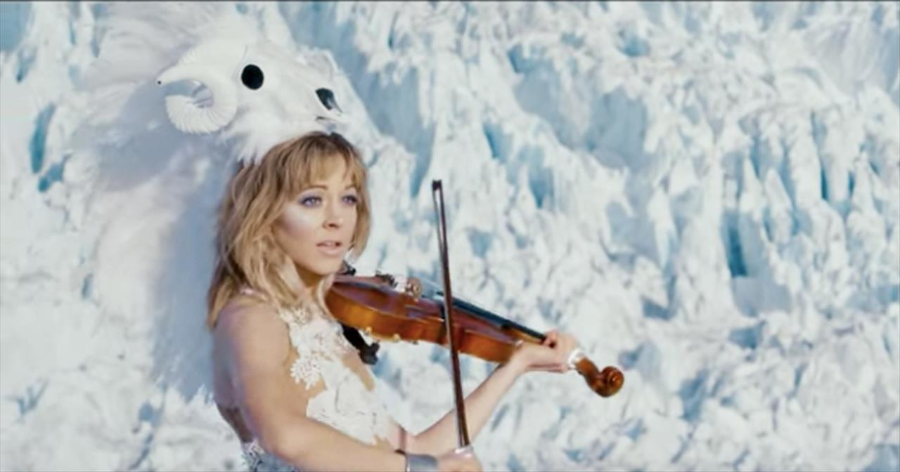 Lindsey Stirling Christmas Album.I Wonder As I Wander Hymn Beautifully Reimagined By Lindsey Stirling Christian Music Videos