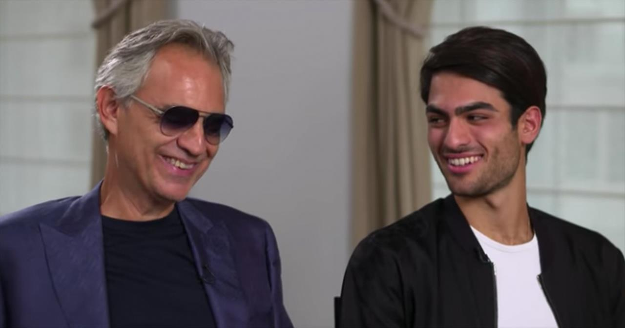 Andrea Bocelli Didn't Know Son Matteo Could Sing Until A Few Years Ago