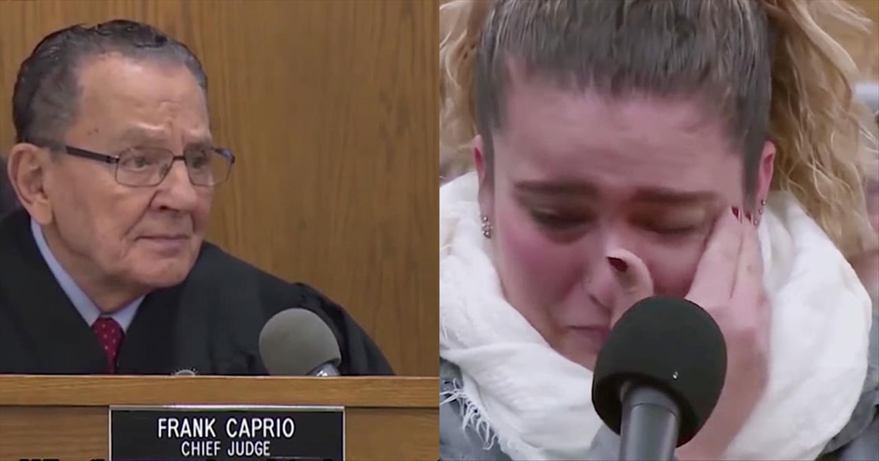 Her Ex Left Her With Parking Tickets But Judge Caprio Knew Better -  Inspirational Videos