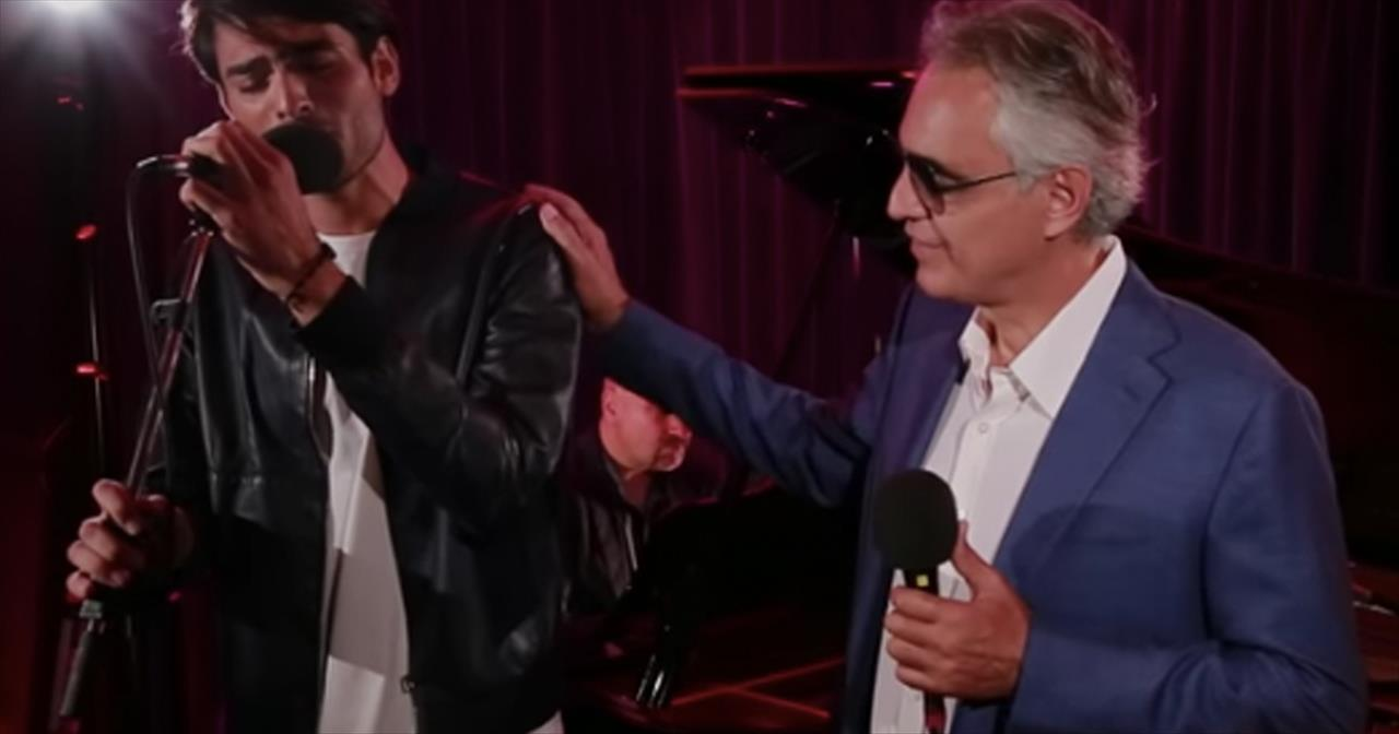 Andrea Bocelli and Son Matteo Perform 'Perfect Symphony'