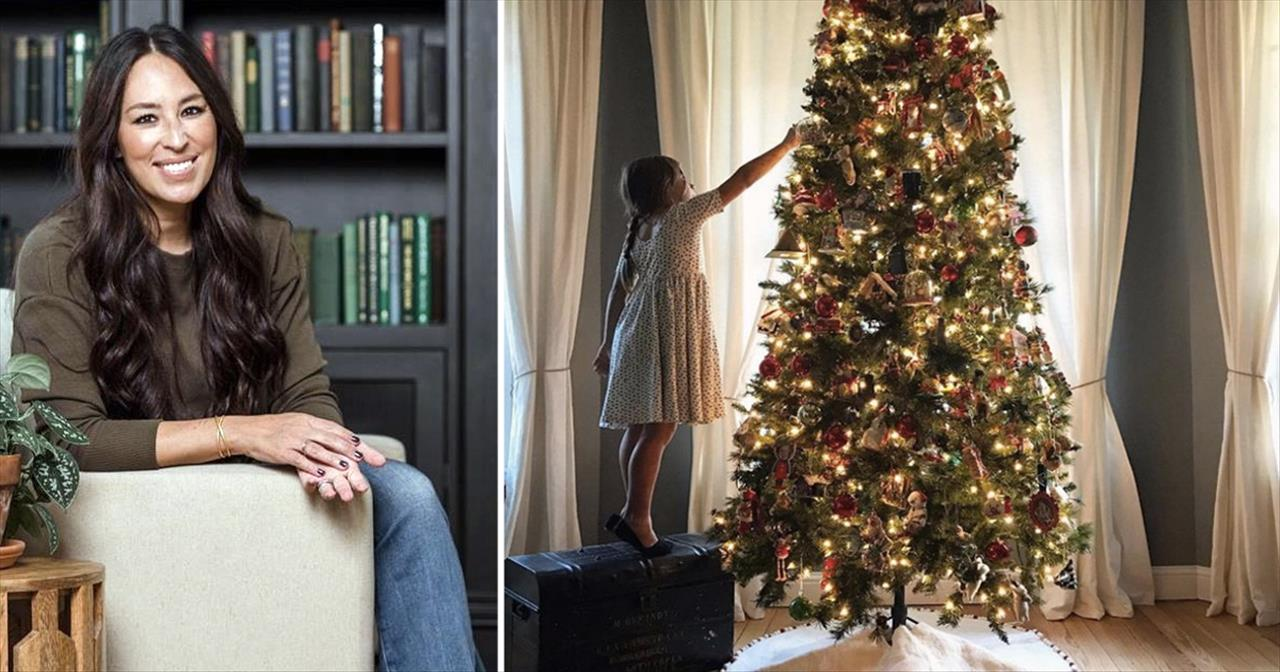 ... joanna gaines shares her christmas decoration ideas inspirational videos ...