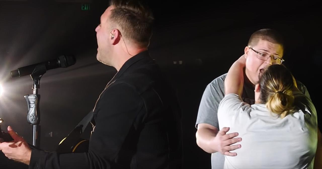 Matthew West Surprises Engaged Couple With Song 'More'