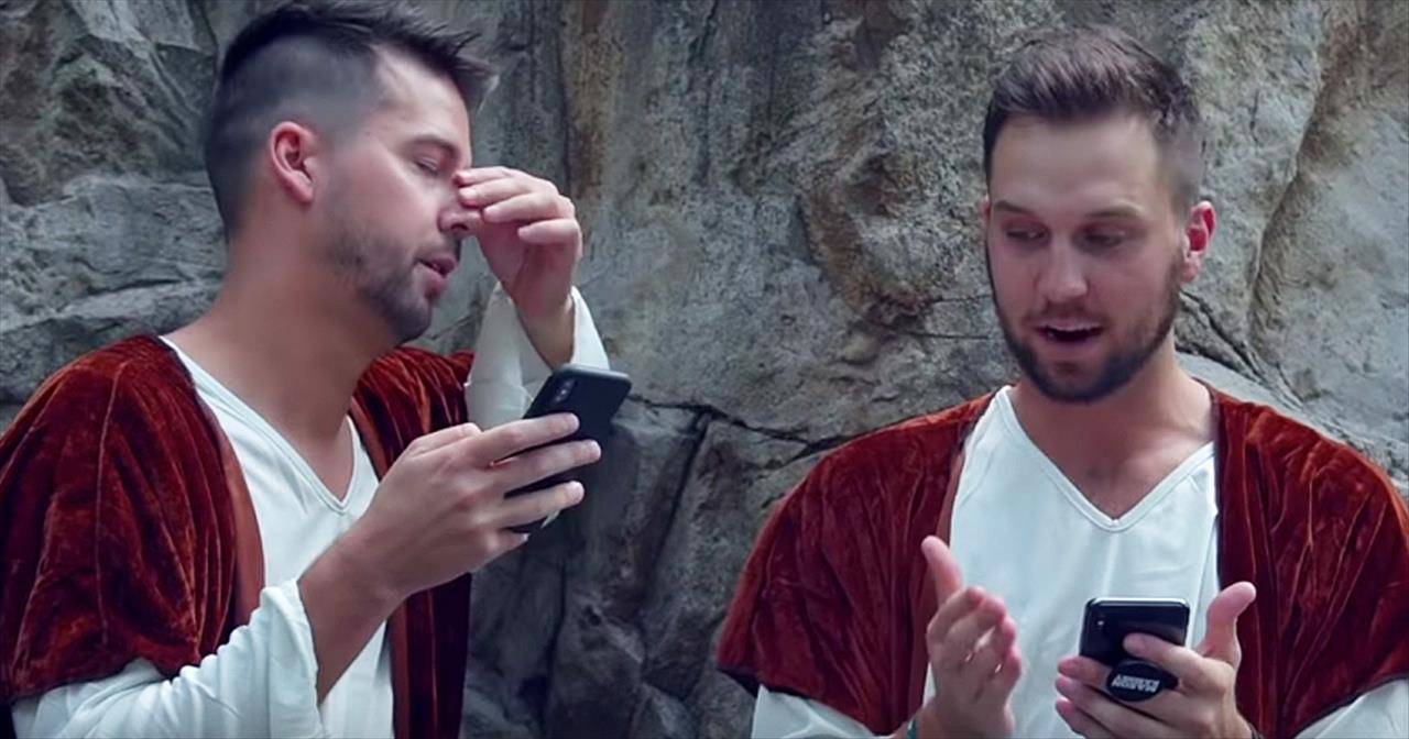 Christian Comedian John Crist On If Bible Characters Had iPhones