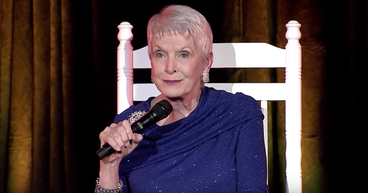 Jeanne Robertson Chats With 'Toothpick Man' At The Doctor's Office