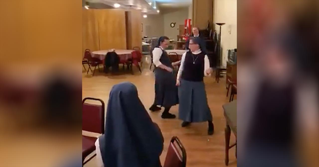 Nuns Dance To Queen's 'We Will Rock You' - Inspirational Videos