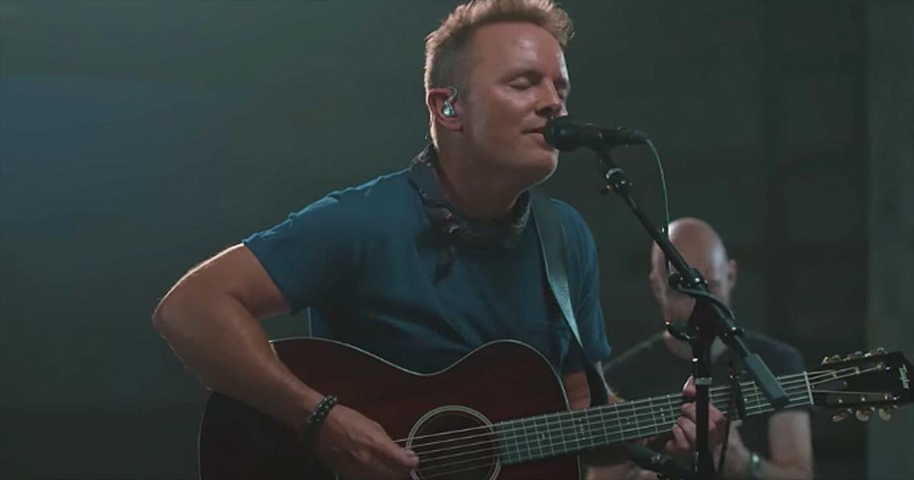 'Goodness, Love And Mercy' Chris Tomlin Acoustic Performance