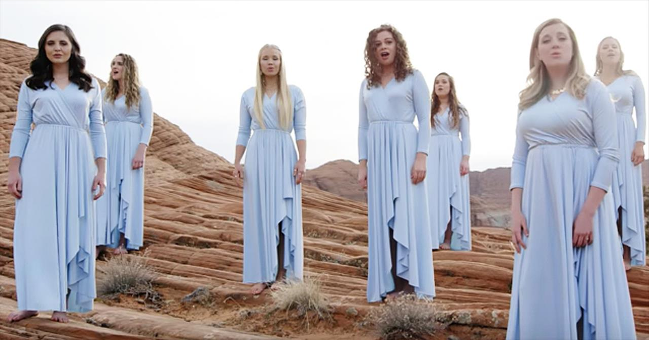 Choir Of Women Sing A Cappella Rendition Of 'I Can Only Imagine' -  Christian Music Videos