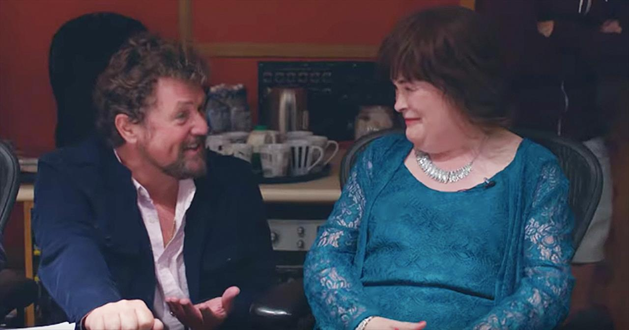 Susan Boyle And Michael Ball Sing Duet Of 'A Million Dreams'