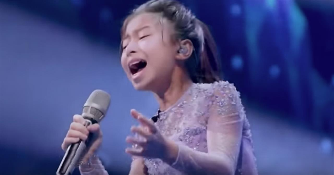 11-Year-Old Celine Tam Earns Golden Buzzer With Original Song -  Inspirational Videos