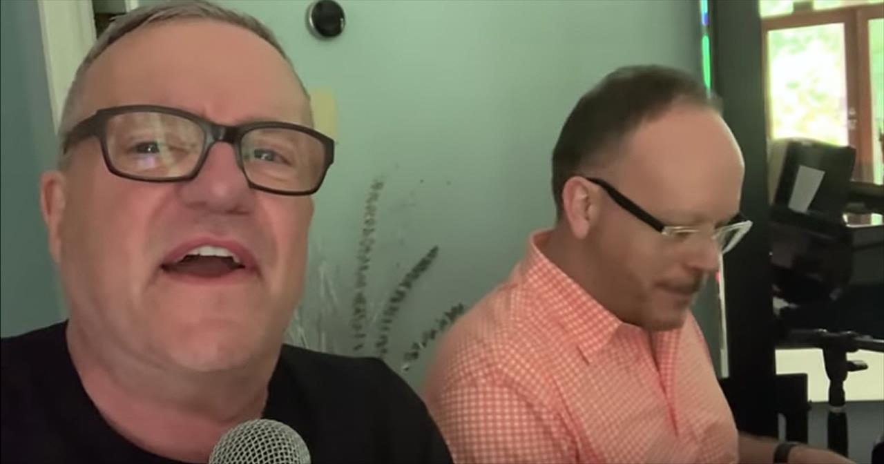 'Glory To His Name' From Mark Lowry And Brother