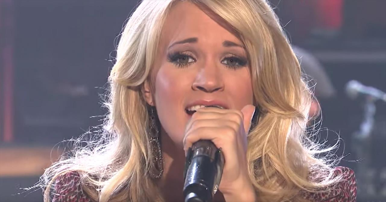 Throwback Performance Of 'Jesus Take The Wheel' From Carrie Underwood