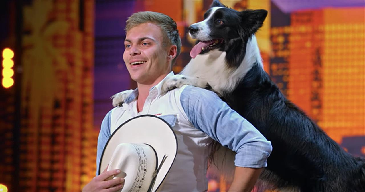 Talented Dog And Trainer Perform 'Footloose' Routine On AGT - Inspirational  Videos