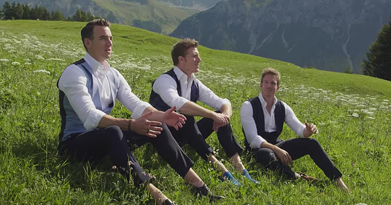 'Edelweiss' Men Of GENTRI Cover Sound of Music Classic