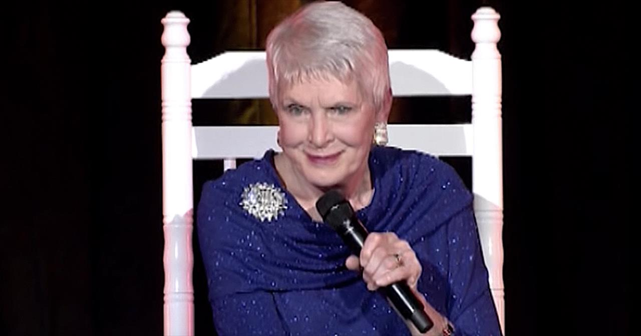 Prime Jeanne Robertsons Hilarious Response To Being Called Old Comedy Videos Gmtry Best Dining Table And Chair Ideas Images Gmtryco